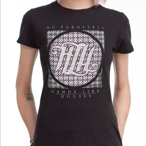 """Hands Like Houses """"No Parallels"""" Tee"""